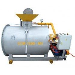 Оборудование для производства пенобетона, мини-завод ССМ-1500-55МП