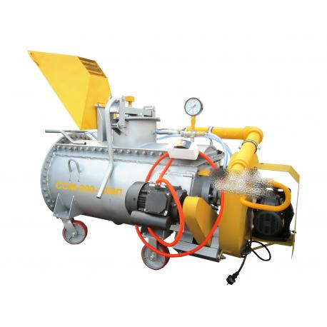 Производство пенобетона, оборудование мини-завод ССМ-200-12М