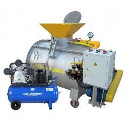 Мини-завод ССМ-500-30М1К и компрессор Remeza для производства пенобетона