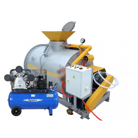 Мини-завод ССМ-1000-40М1 с компрессором для производства пенобетона