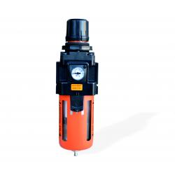 Фильтр масло-влагоотделитель WIEDERKRAFT WDK-7740 с регулятором давления