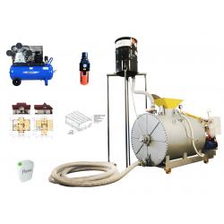 Оборудование для производства пенобетона, ССМ-1000