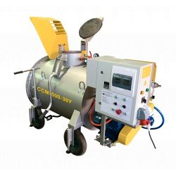Мини-завод ССМ-500-30У для производства пенобетона, полистиролбетона