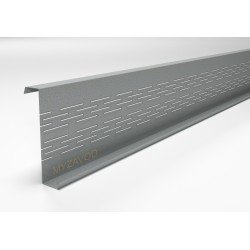 Thermoprofiles Z purlins 8 rows of thermal breaks