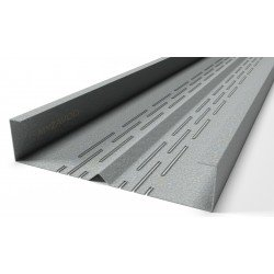 Rack thermal profiles with a rib, multi-shelf (shelves 41/45, 6 rows of thermal slits)