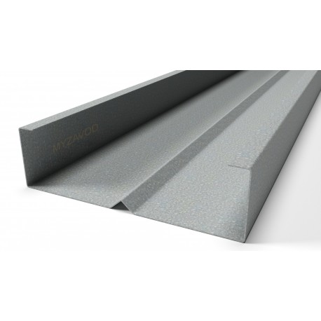 Rack profiles with an equal-flange rib (shelves 55/55)