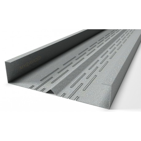 Thermoprofiles rack with an equal-shelf edge (shelves 55/55) 6 rows of thermal cuts