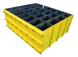 Металлическая форма для производства пеноблоков