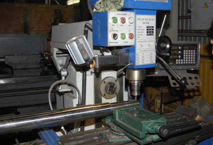 Оборудование для пенобетона, вал смесителя
